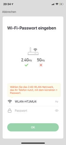 Lightning ever Lichterkette verbinden mit Handy?