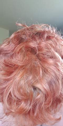 Lila Haare gebleached, kann ich sie nun mit einer Pink Tönung Pink bekommen?
