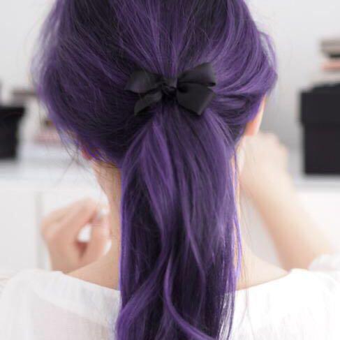 lila haare ohne blondieren angst friseur. Black Bedroom Furniture Sets. Home Design Ideas