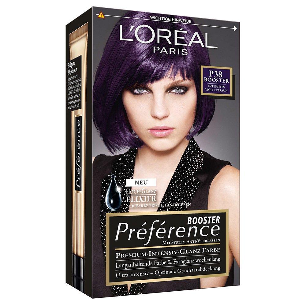 Haare lila farben ohne blondieren
