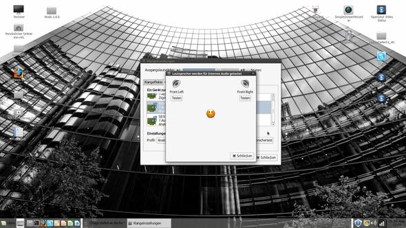 Lautsprechertest (3) - (PC, Fehler, Linux)