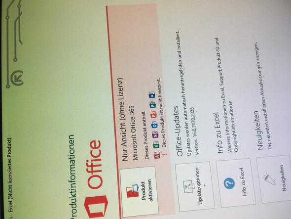 Lizenz für Office 365 aktivieren?