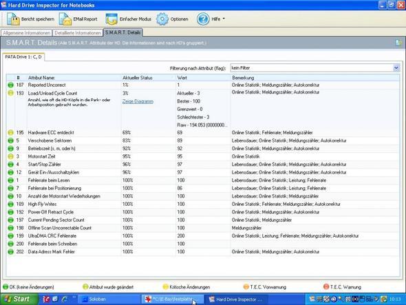 Festplatte 3 - (Notebook, Festplatte, Smart)
