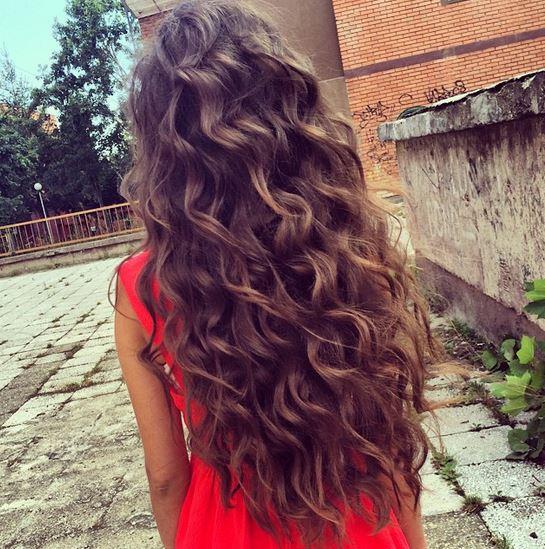 Locken Machen Hilfe Mdchen Haare Beauty