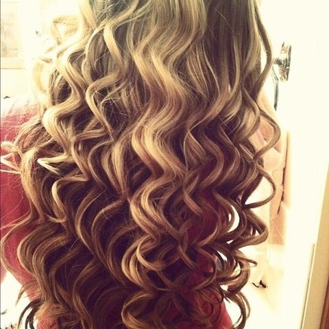 Lange Haare Lockenstab Zonnereizen