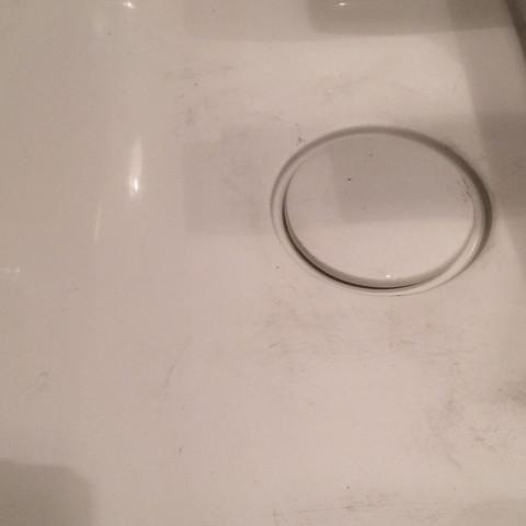 Losemittel Basierenden Lack Aus Waschbecken Entfernen Chemie