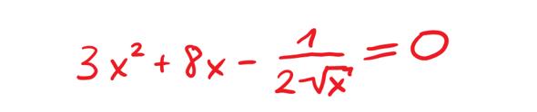 """Lösen einer Wurzelgleichung """"von Hand"""" ohne Taschenrechner - wie soll das möglich sein?"""