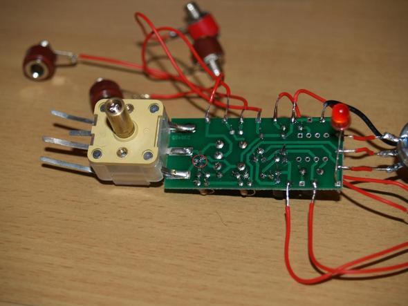 Platine - (Elektronik, Radio, löten)