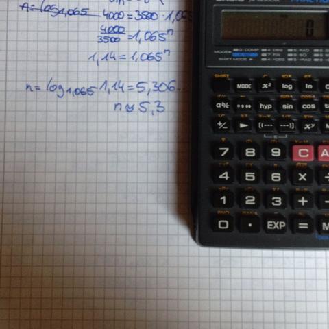 logarithmus in den taschenrechner eingeben schule mathe. Black Bedroom Furniture Sets. Home Design Ideas