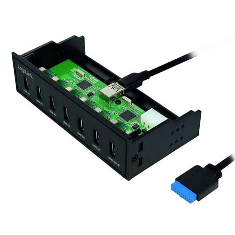 LogiLink UA0342 per USB anschließen?