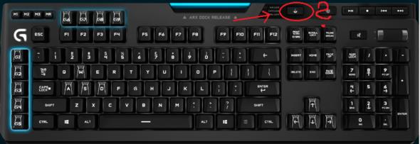 Taste auf der Logitech? - (PC, Games, Hardware)