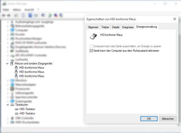 Gerätemanager  - (Tastatur, Windows 10, Maus)