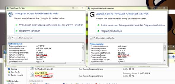 Das Problem - (PC, Software, Logitech)