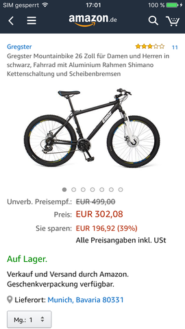 Dieses - (Mountainbike, kaufentscheidung)