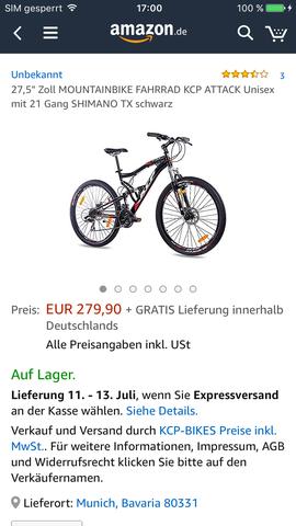 Oder dieses - (Mountainbike, kaufentscheidung)