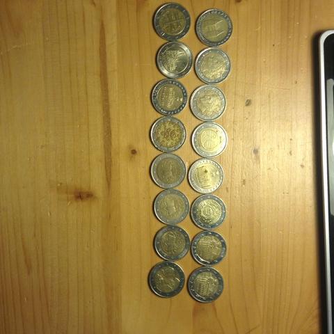 Lohnt Es Sich Gebrauchte 2 Euromünzen Mit Besonderen Prägungen Bei