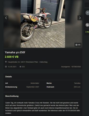 - (Auto und Motorrad, Motorrad, Motor)