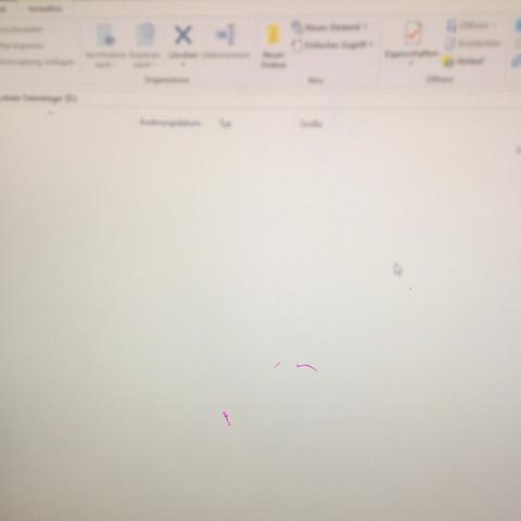 Der Datenträger ist leer. - (PC, Datenträger)