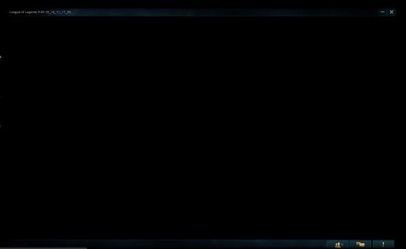 So sieht das dann aus. - (lol, League of Legends, blackscreen)