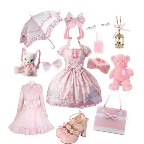 Diverse (sweet)Lolita Kleidung inkl. Accesoires - (Mode, Bilder, Kleidung)