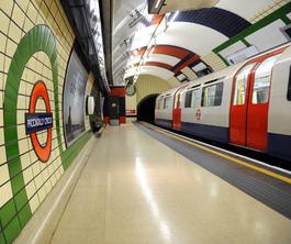 London Underground - Platzangst?