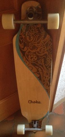 longboard von choke gut oder schlecht sport skateboard skaten. Black Bedroom Furniture Sets. Home Design Ideas