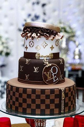 Wie Kann Ich Einen Louis Vuitton Kuchen Machen Mode Geburtstag