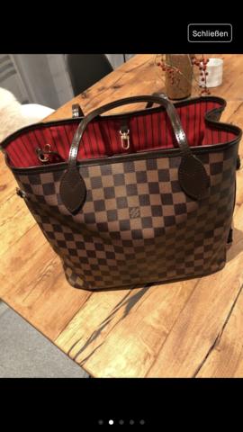 803be678dc18d Louis Vuitton neverfull mm echt  (Fake