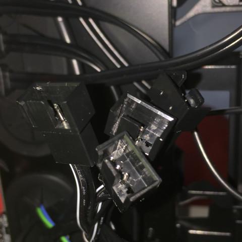 Kabel-Stecker - (PC, Lüfter, Gehäuse)