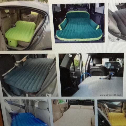 luftmatraze im auto f r kofferraum in kleinwagen wo aufzutreiben schlafen luftmatratze. Black Bedroom Furniture Sets. Home Design Ideas
