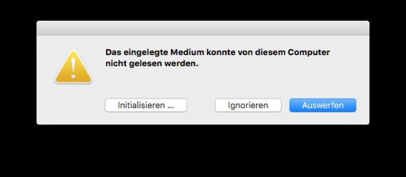 Bild 1 - (Mac, USB-Stick, OS X)