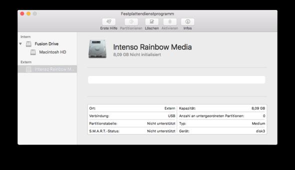 Bild 2 - (Mac, USB-Stick, OS X)