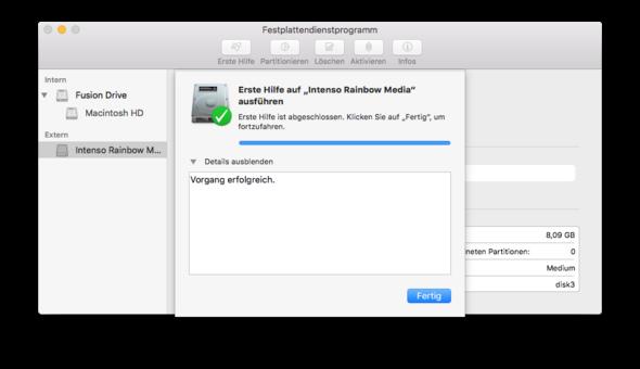 Bild 3 - (Mac, USB-Stick, OS X)