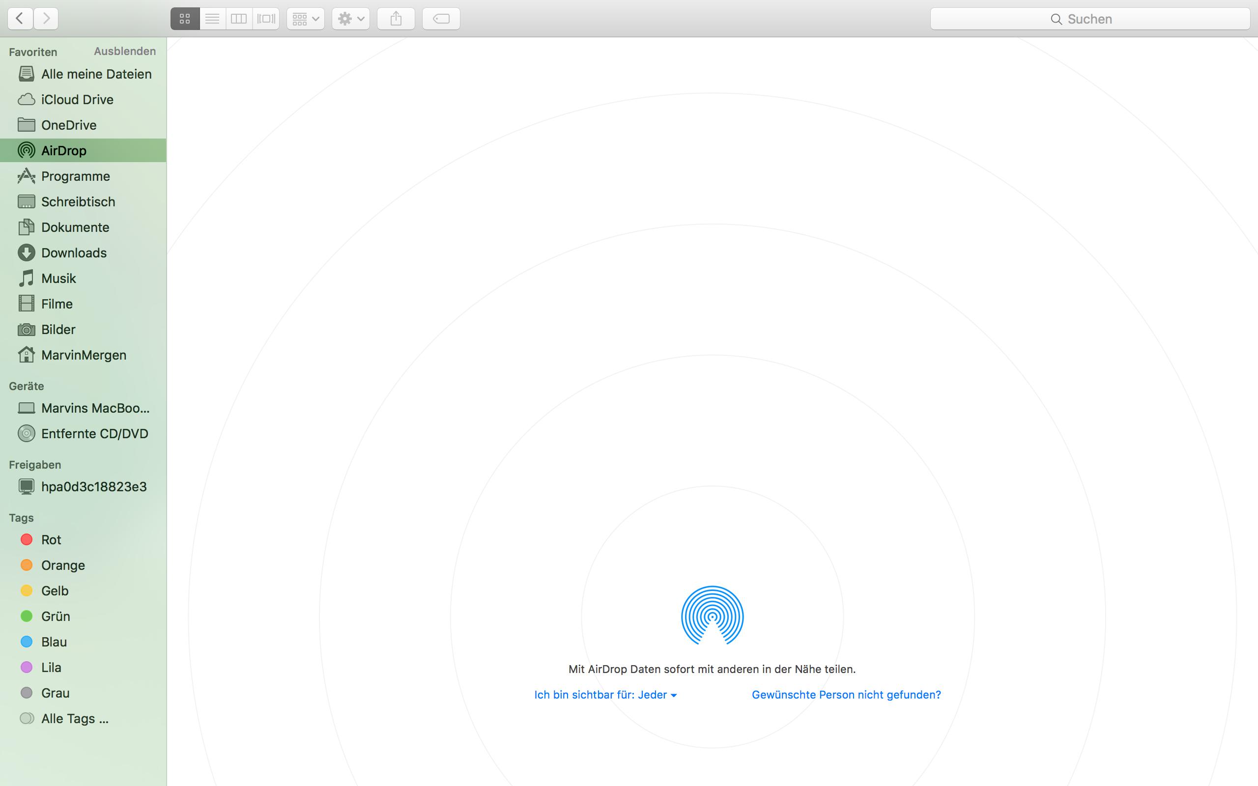 Mac Findet Iphone Nicht Bei Airdrop Technik Apple Wlan