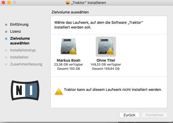 mac kann programm auf diesem laufwerk nicht installieren. Black Bedroom Furniture Sets. Home Design Ideas