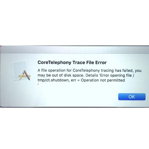 Fehlerdialogbox - (Computer, Apple, Software)