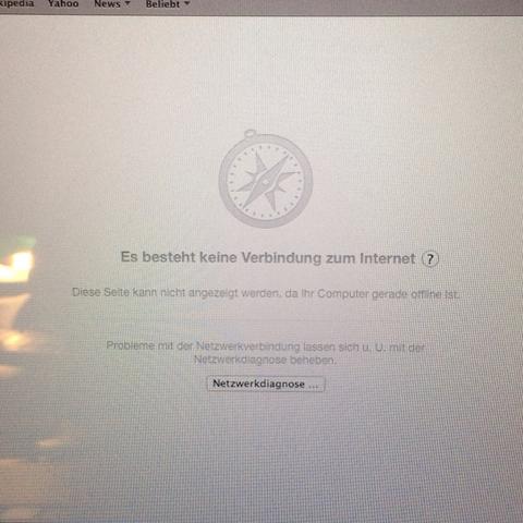 Kein Internet - (Internet, Apple, WLAN)
