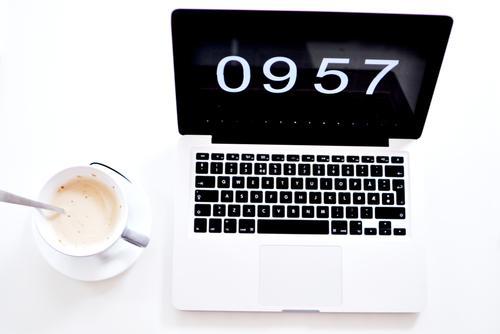 MacBook // Wie Bekomme Ich Die Uhrzeit Ganz Groß Auf Den