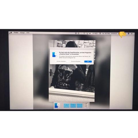So sieht mein Desktop jetzt aus  - (Macbook, Kindersicherung)