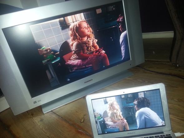 Der schwarze Rand - (Fernseher, Macbook, Bildschirm)