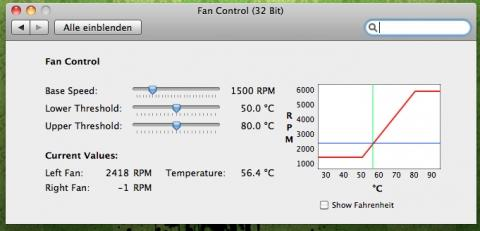 FanControl Werte - (Computer, Apple, Macbook)