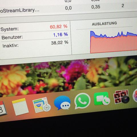 MacBook Pro Lüfter läuft ständug laut?