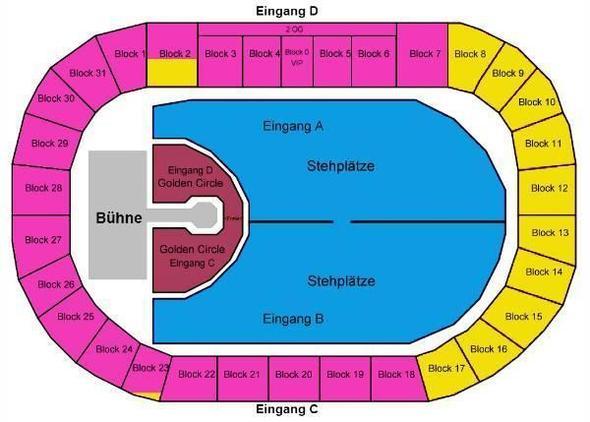 Sitzplätze - (Konzert, madonna)