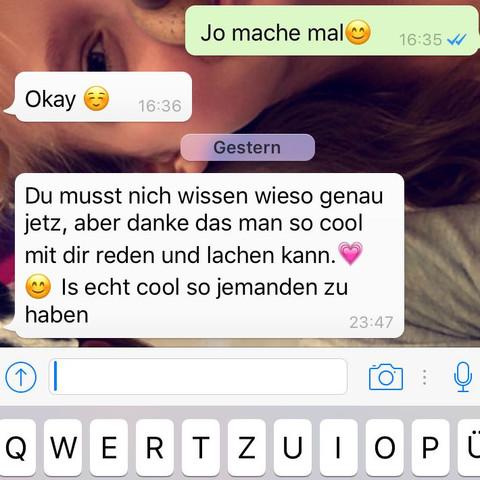Mit mädchen flirten whatsapp