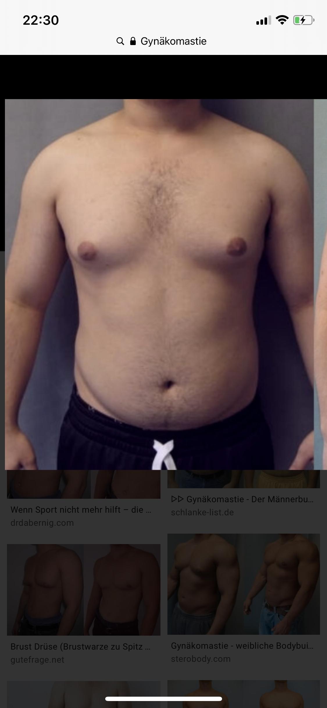 Brust östrogen mann Männerbrüste: Das