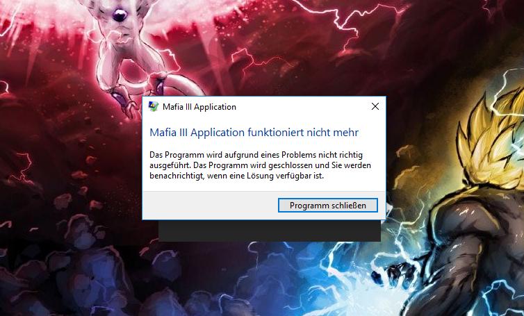 Mafia 3 Application funktioniert nicht mehr? (Games, mafia3) ~ Kühlschrank Funktioniert Nicht Mehr