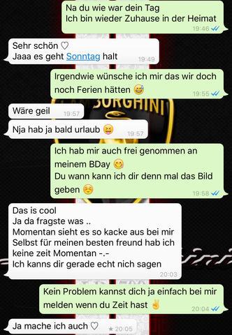 WhatsApp 1 - (Liebe, Beziehung, Freundin)