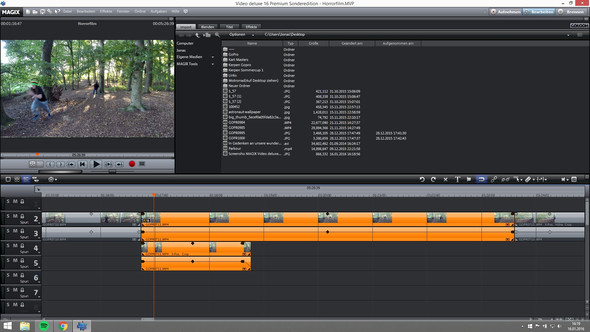 ENDPRODUKT - (Video, Magix Video Deluxe, Video in Video)