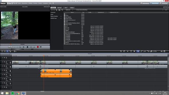 VIDEO WAS ÜBER DEM HAUPTVIDEO EINGEFÜGT WIRD - (Video, Magix Video Deluxe, Video in Video)