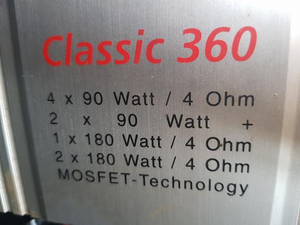 Magnat Classic 360 zieht Batterie leer!?